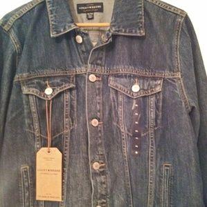 Lucky Brand Jean Jacket Denim XL